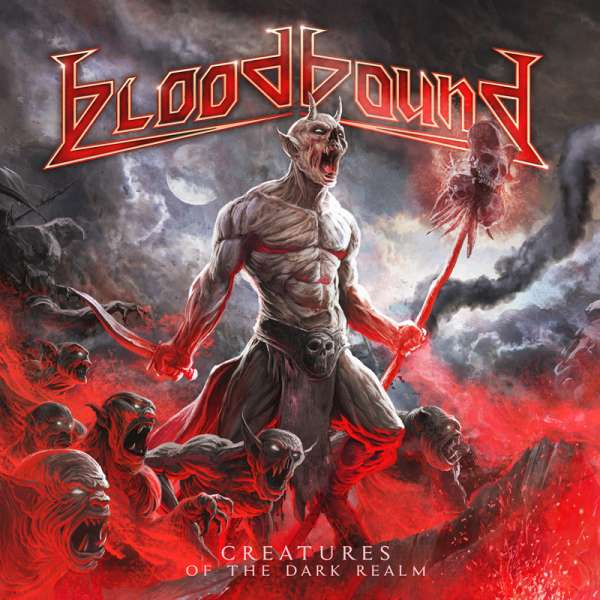 BLOODBOUND - Creatures Of The Dark Realm - CD+DVD Digipak