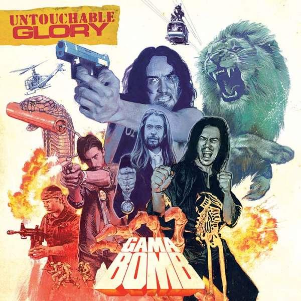 Gama Bomb - Untouchable Glory - CD Jewelcase