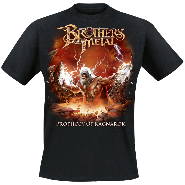 BROTHERS OF METAL - Prophecy Of Ragnarök - T-Shirt M-XXXL - Black