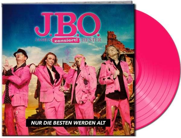 J.B.O. - Nur Die Besten Werden Alt (Ltd.Gatefold/Pink Vinyl)