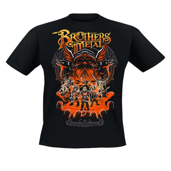BROTHERS OF METAL - Brothers Unite - T-Shirt Size S-XXL
