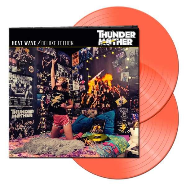 THUNDERMOTHER - Heat Wave (Deluxe Edition) - Ltd. Gatefold NEON ORANGE 2-LP