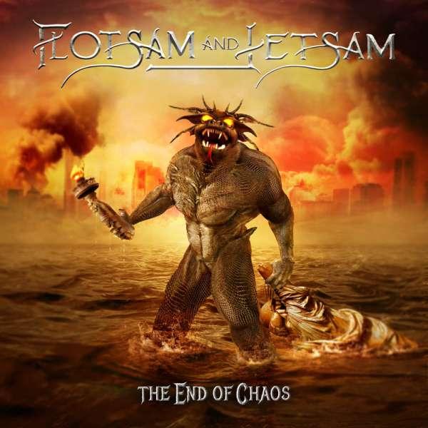 FLOTSAM AND JETSAM - The End Of Chaos - Digipak CD