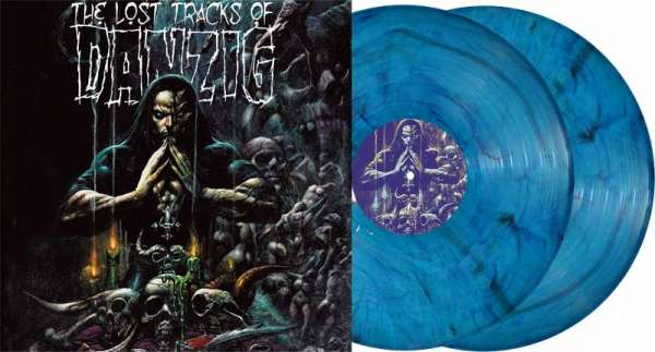 Danzig - The Lost Tracks Of Danzig - Ltd. Gtf. Clear-Midnight Blue Marbled 2-Vinyl