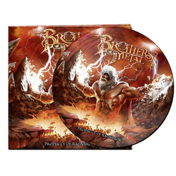 BROTHERS OF METAL - Prophecy Of Ragnarök - Ltd. Gatefold PICTURE DISC LP