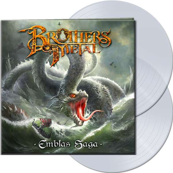 BROTHERS OF METAL - Emblas Saga - Ltd. Gatefold CLEAR 2-LP