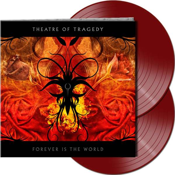THEATRE OF TRAGEDY – Forever Is The World - Ltd. Gtf. Red 2-Vinyl