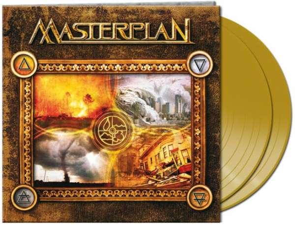 MASTERPLAN - Masterplan (2-LP aztec golden Vinyl)