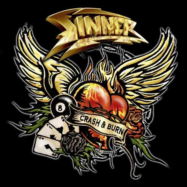 SINNER - Crash & Burn (Ltd. Digipak)