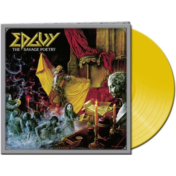 EDGUY – The Savage Poetry (Anniversary Edition) - Ltd. Gatefold YELLOW LP