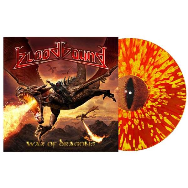 BLOODBOUND - War of Dragons - Ltd. Gtf. Red/Yellow Splatter Vinyl