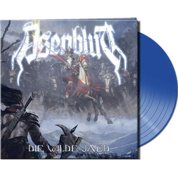 ASENBLUT - Die Wilde Jagd - Ltd. Gatefold CLEAR BLUE Vinyl