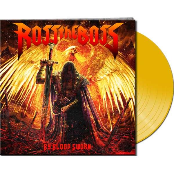 ROSS THE BOSS - By Blood Sworn - Ltd. Gtf. Yellow Vinyl