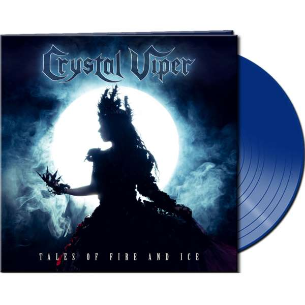 CRYSTAL VIPER - Tales Of Fire And Ice - Ltd. Gatefold BLUE LP