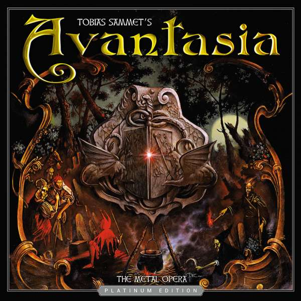 AVANTASIA - The Metal Opera Pt. I (Platinum Edition) - Ltd. Digipak