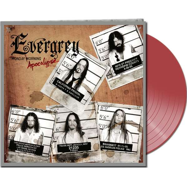 EVERGREY - Monday Morning Apocalypse (Remasters Ed.) - Ltd.Gtf.CLEAR RED LP