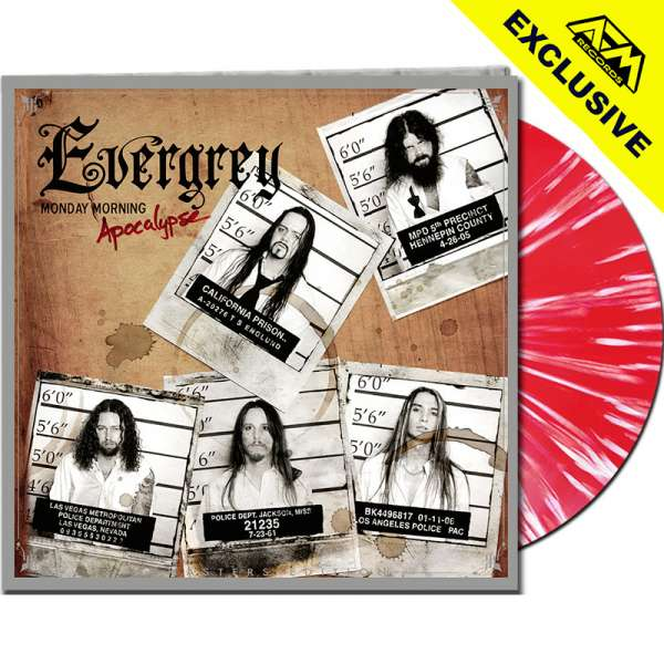 EVERGREY - Monday Morning Apocalypse (Rem.Ed.) - Ltd.Gtf.CLEAR RED/WHITE SPLATTER LP - Shop Exclusiv