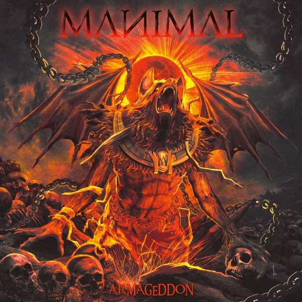 MANIMAL - Armageddon - Digipak-CD