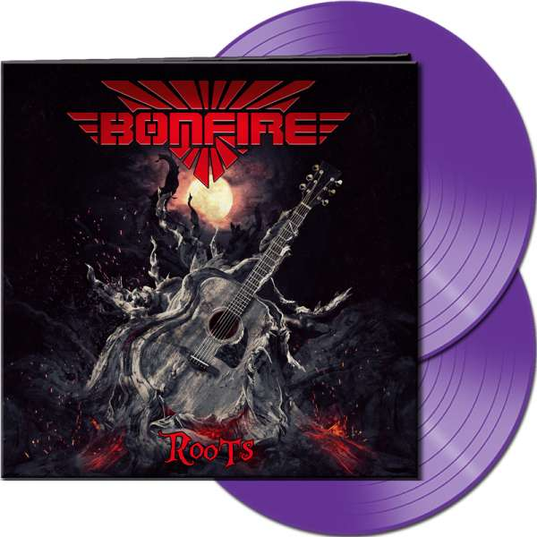 BONFIRE - Roots - Ltd. Gatefold PURPLE 2-LP