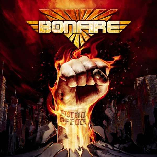 BONFIRE - Fistful Of Fire - Digipak CD