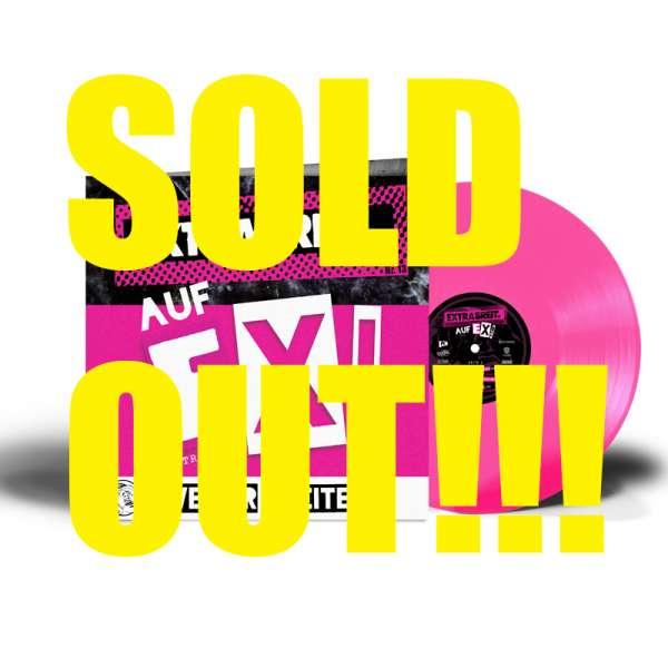 EXTRABREIT - Auf EX! - Ltd. Gatefold TRANSPARENT PINK Vinyl - Shop Exclusive!