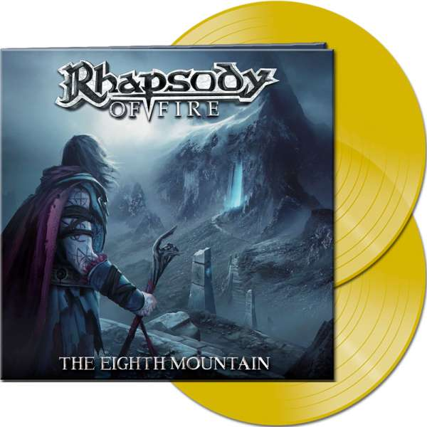 RHAPSODY OF FIRE - The Eighth Mountain - Ltd.Gatefold CLEAR YELLOW 2-LP