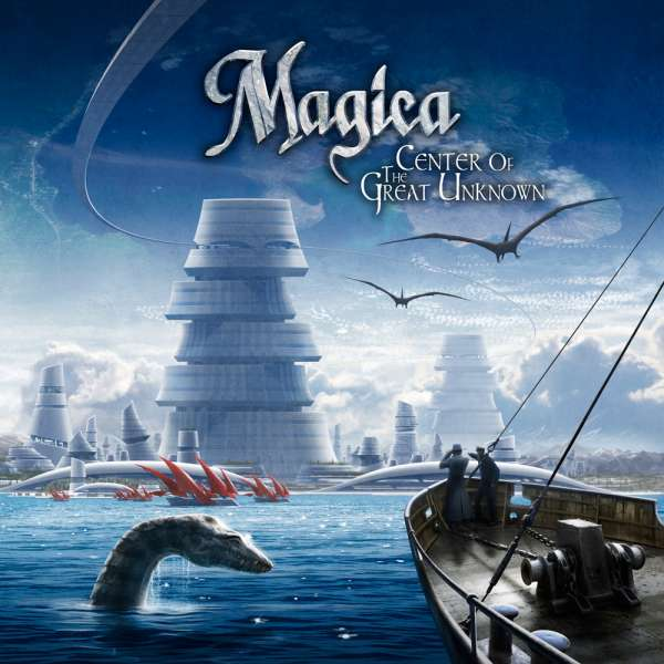 MAGICA - Center Of The Great Unknown - CD