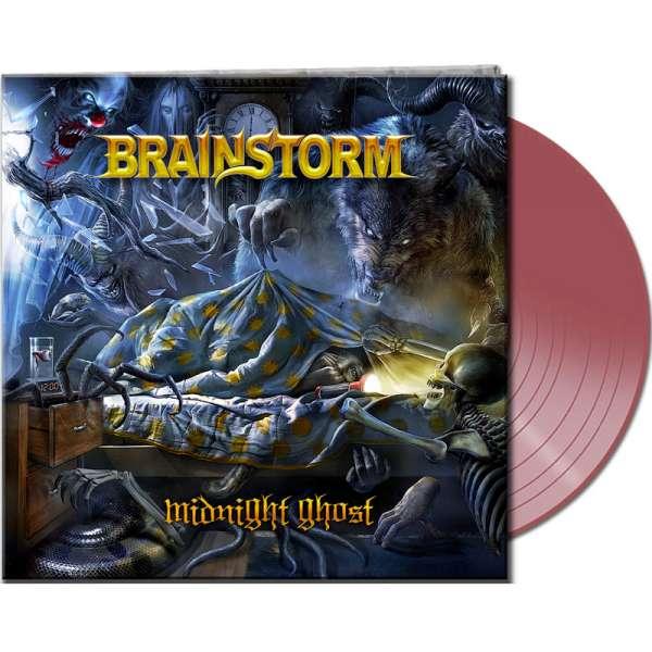 BRAINSTORM - Midnight Ghost - Ltd. Gatefold CLEAR RED Vinyl