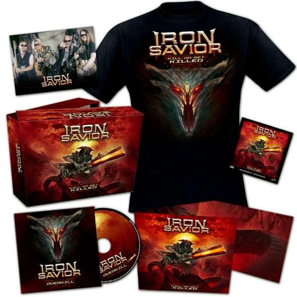 IRON SAVIOR - Kill Or Get Killed - Ltd. Boxset (incl. T-Shirt L/XL)