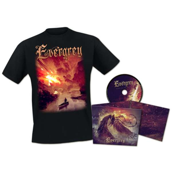 EVERGREY - Escape Of The Phoenix - Ltd. Bundle: Digipak-CD + T-Shirt M-XXL - Exclusive!