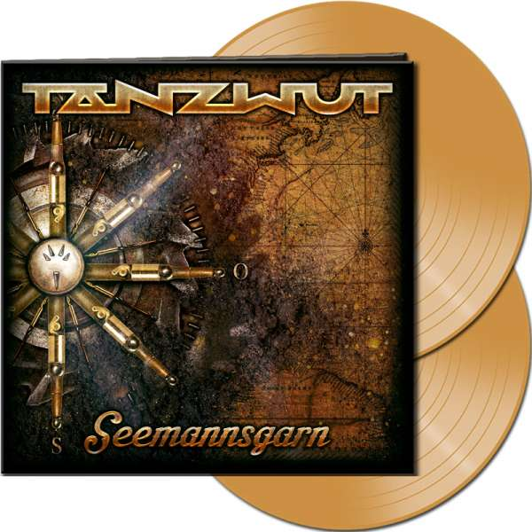 TANZWUT - Seemannsgarn - Ltd. Gatefold GOLD Vinyl 2-LP