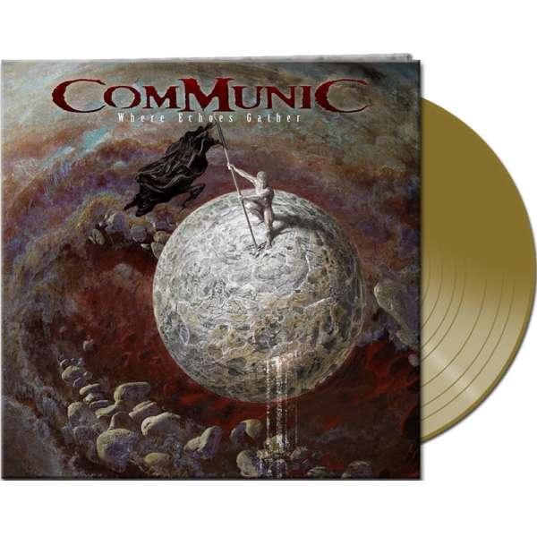 COMMUNIC - Where Echoes Gather - Ltd. Gtf. Gold Vinyl