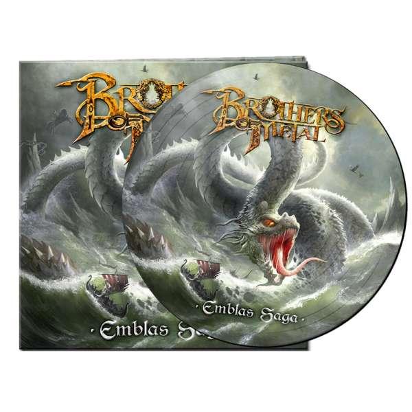 BROTHERS OF METAL - Emblas Saga - Ltd. Gatefold PICTURE DISC LP