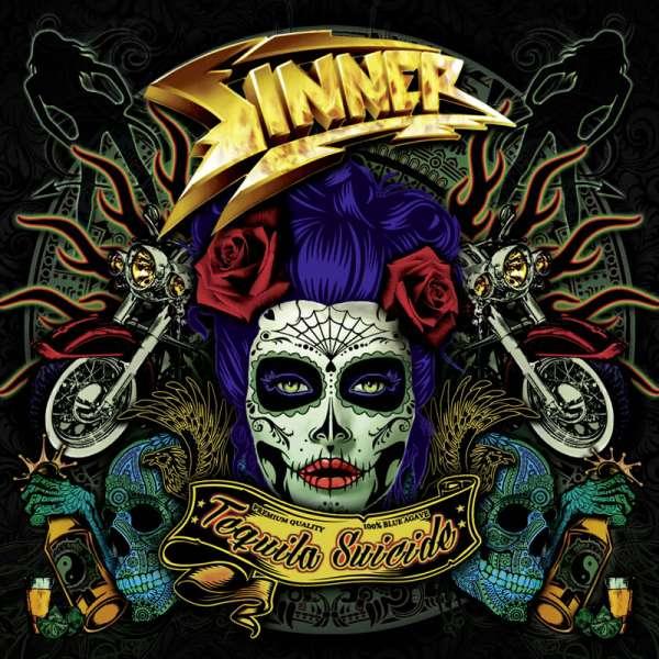 SINNER - Tequila Suicide - CD Jewelcase
