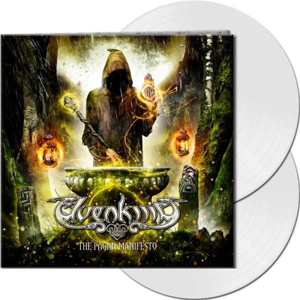 ELVENKING - The Pagan Manifesto - Ltd. Gtf. White 2-Vinyl