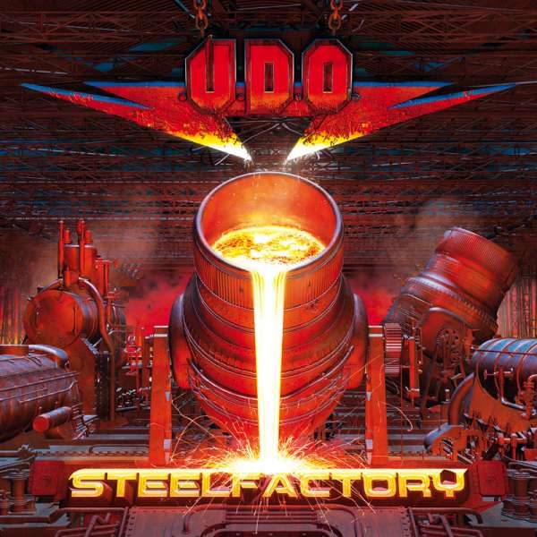 U.D.O. - Steelfactory - CD Jewelcase
