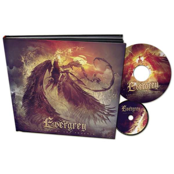 "EVERGREY - Escape Of The Phoenix - Ltd. Artbook (incl.CD + 7""-Picture-Vinyl)"