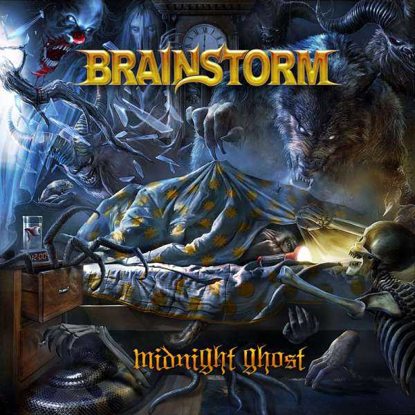 BRAINSTORM - Midnight Ghost - CD Jewelcase