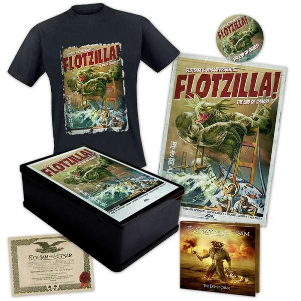 FLOTSAM AND JETSAM - The End Of Chaos - Ltd. Boxset (incl. T-Shirt L-XXL)