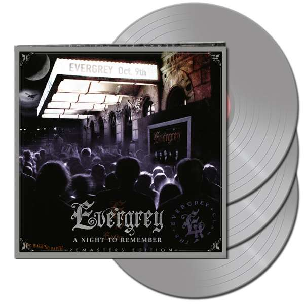EVERGREY - A Night to Remember - Live 2004 (Remasters Edition) - Ltd. Gatefold SILVER 3-LP