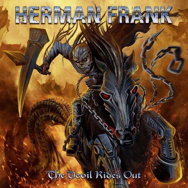 Herman Frank - The Devil Rides Out - CD Jewelcase