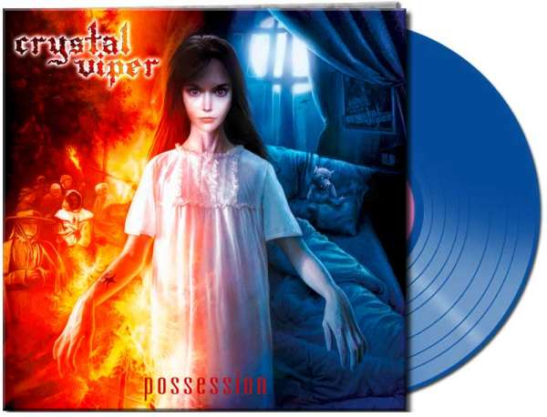 CRYSTAL VIPER - Possession (clear blue Vinyl)