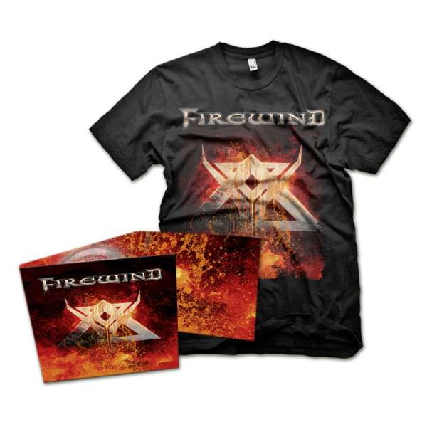 FIREWIND - Firewind - Bundle: Digipak-CD + TS-M-XXL