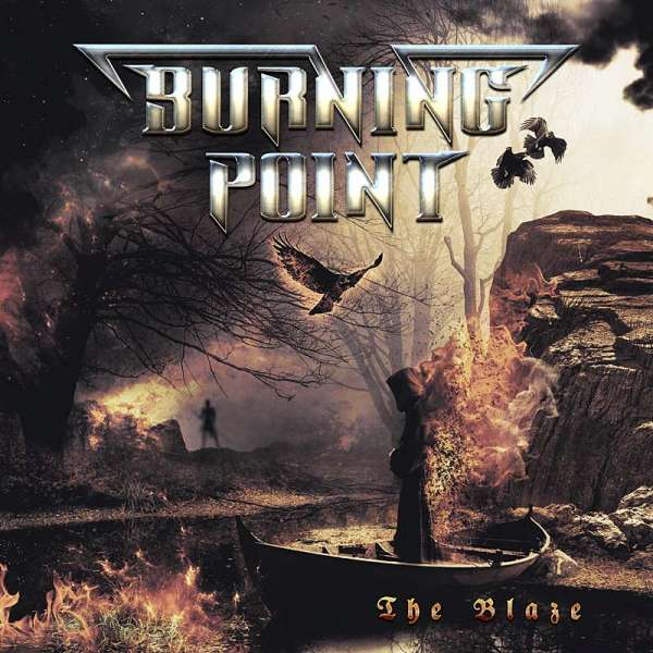 Burning Point - The Blaze - CD Jewelcase