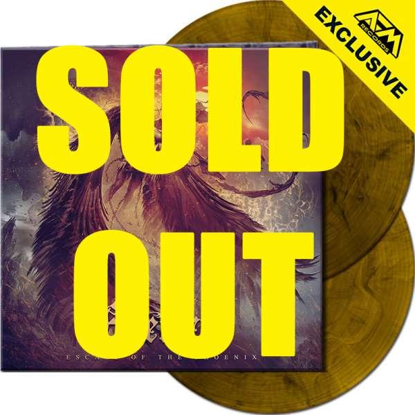 EVERGREY - Escape Of The Phoenix - Ltd. Gatefold CLEAR ORANGE/BLACK MARBLED 2-LP - Shop Exclusive!