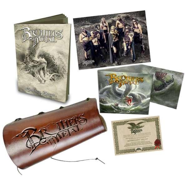 BROTHERS OF METAL - Emblas Saga - Ltd. Boxset