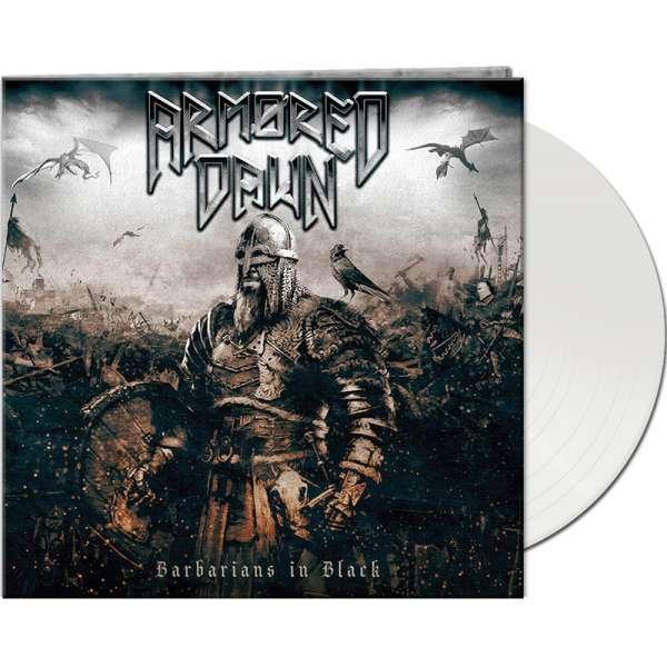 ARMORED DAWN - Barbarians In Black - Ltd. Gtf. White Vinyl