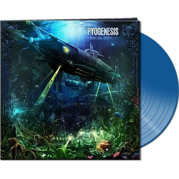 PYOGENESIS - A Silent Soul Screams Loud - Ltd. Gatefold CLEAR BLUE
