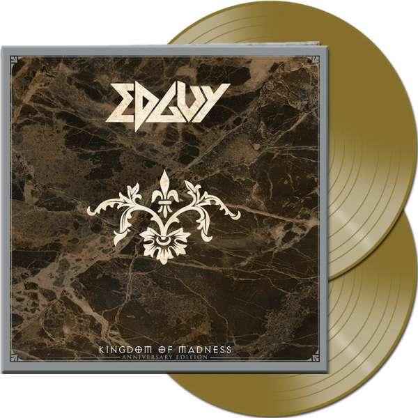 EDGUY - Kingdom Of Madness (Anniversary Edition) - Ltd. Gatefold GOLD 2-Vinyl