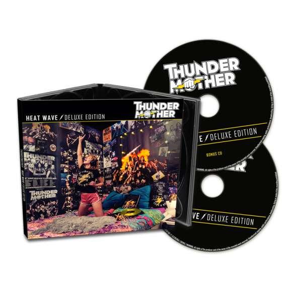 THUNDERMOTHER - Heat Wave (Deluxe Edition) - 2-CD Digipak